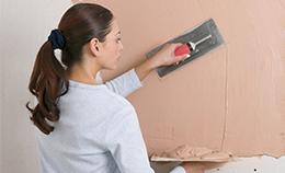Как дома выровнять стены?