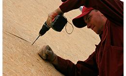 Монтаж стен с использованием плит OSB