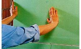Отделка стен гипсокартоном на клею
