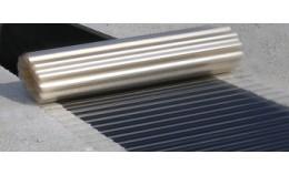 Монтаж склопластикового прозорого шиферу Волнопласт