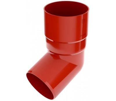 Колено водосточное Bryza 90 мм (красный)