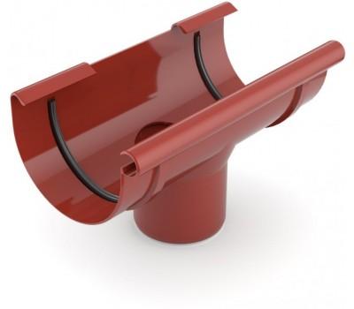 Лейка водостічна Bryza 125/90 мм (червоний)