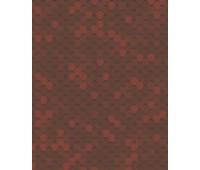 Битумная черепица Акваизол Мозаика 3 кв.м (огненная лава)