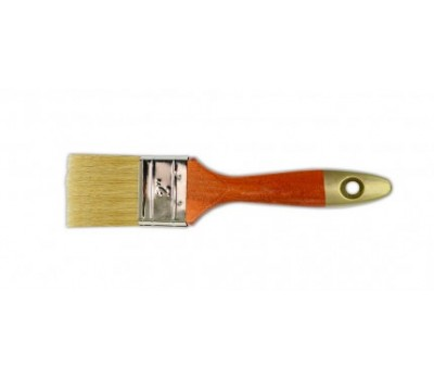 Кисть флейцевая Favorti Премиум Профи 38 мм (деревянная рукоять)