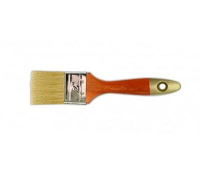 Кисть флейцевая Favorti Премиум Профи 76 мм (деревянная рукоять)