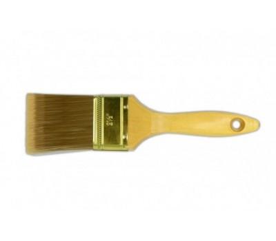 Кисть флейцевая Favorit Чемпион 76 мм (деревянная рукоять)