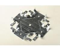 Кронштейн крестообразный Профсталь для профиля CD60 0.6 мм