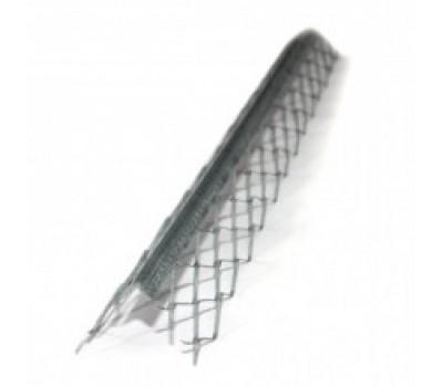 Уголок для мокрой штукатурки металлический (3 м)