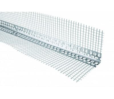 Уголок алюминиевый с сеткой (3 м)