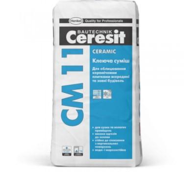 Клей для плитки Ceresit CM 11 Ceramic 5 кг