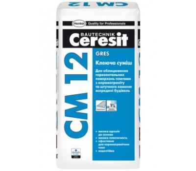 Смесь клеящая Ceresit CM 12 25 кг