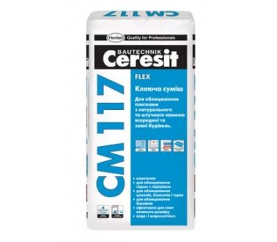 Клей для плитки Ceresit CM 117 25 кг