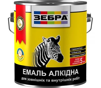 Эмаль Зебра ПФ-116 №12 белый гланцевый 2.8 кг