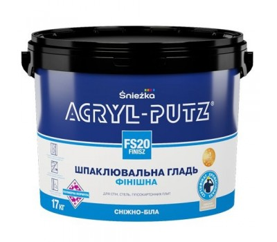 Шпаклевка финишная Sniezka Acryl-Putz FS20 (27 кг)