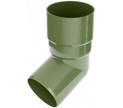 Коліно водостічне Bryza 90 мм (зелений)
