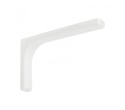 Полкодержатель угловой 240 мм (Белый)