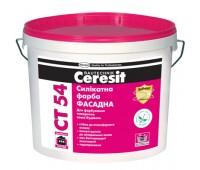 Краска Ceresit CT 54 силикатная 10 л