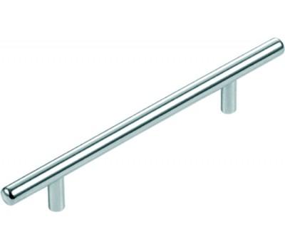 Ручка мебельная цилиндрическая 160 мм (Хром)
