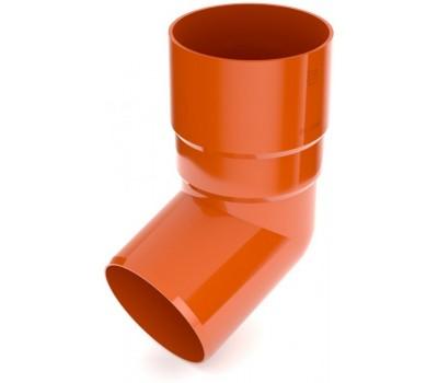 Колено водосточное Bryza 90 мм (кирпичный)