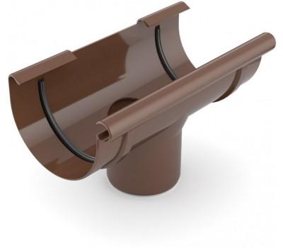 Лейка водосточная Bryza 125/110 мм (коричневый)