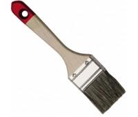 Кисть плоская Hardy *40* 63,5 мм (деревянная рукоять)