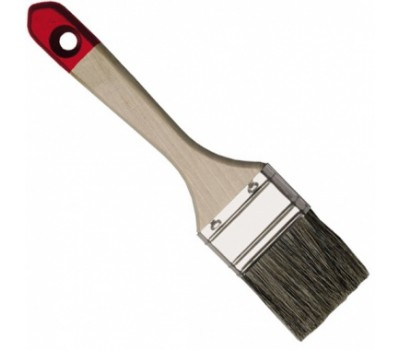Пензель плоский Hardy * 40 * 63,5 мм (дерев'яна ручка)