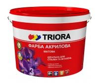 Краска Triora интерьерная матовая белый 3 л