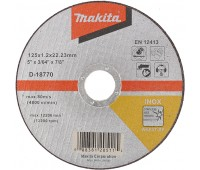 Круг отрезной по нержавейке Makita 125 x 22,2 мм