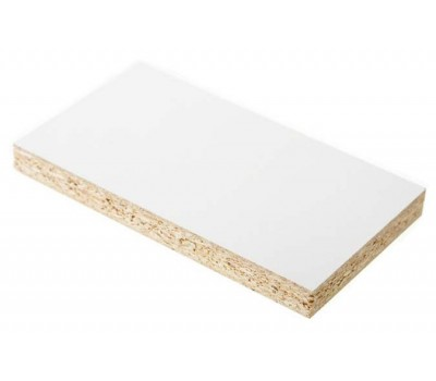 Плита ДСП ламинированная Kronospan 2750 x 1830 x 16 мм (0101 Белый фасадный SM)