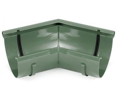 Угол внутренний водосточный Bryza произвольный 125 мм (зеленый)