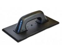 Терка пластмассовая Favorit с черной резиной 270 x 130 мм
