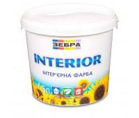 Краска Зебра Interior интерьерная 5 л