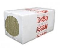 Мінеральна базальтова вата Izovat 30 100 мм  (1 x 0,6 м) 3м.кв