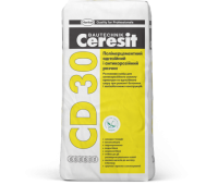 Полимерцементный адгезионный и антикоррозионный раствор Ceresit CD30 25 кг