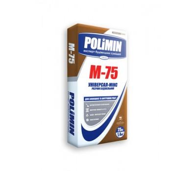 Будівельний розчин Polimin М-75 25 кг