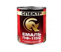 Эмаль Спектр ПФ-115С коричневый 2.8 кг