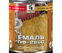 Емаль Спектр ПФ-266С Стандарт жовто-коричневий 0.9 кг