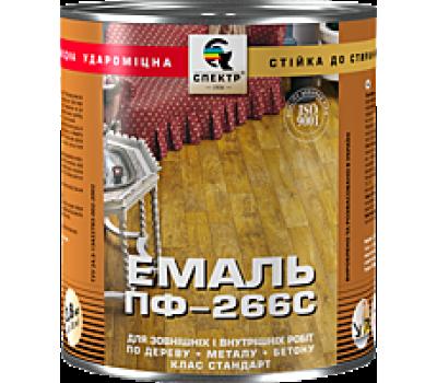 Эмаль Спектр ПФ-266С Стандарт желто-коричневый 0.9 кг