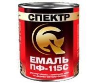Емаль Спектр ПФ-115С Стандарт жовто-коричневий 0.9 кг