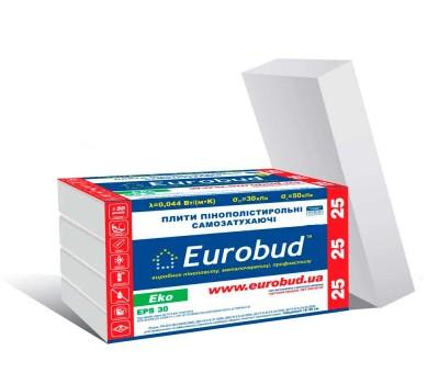 Пенопласт Eurobud Eko-25 20 мм (1 x 0,5 м)