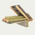 Минеральная базальтовая вата Технониколь Роклайт 100 мм (1,2 x 0,6 м) 2,88 м. кв