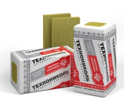 Мінеральна базальтова вата Техноніколь ТЕХНОВЕНТ Стандарт 50 мм (1,2 x 0,6 м) 4,32 м. кв