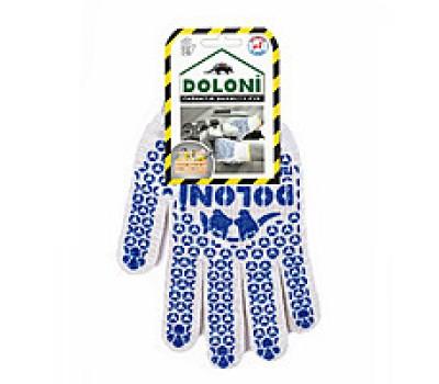 Перчатки рабочие Doloni с точкой ПВХ