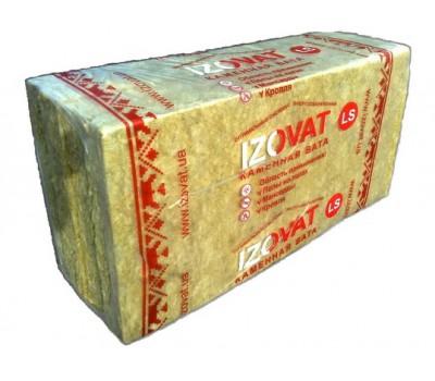 Минеральная базальтовая вата Izovat LS 100 мм (1 x 0,6 м) 3,6 м.кв