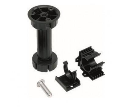 Ножка мебельная регулируемая 100 мм Черная