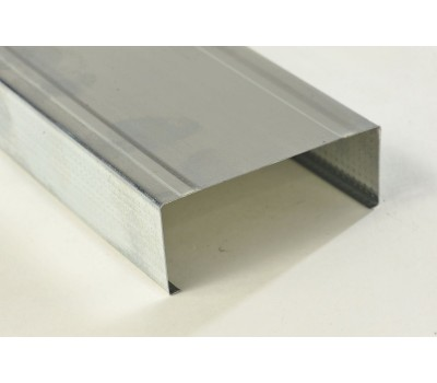 Профиль для гипсокартона CW Стоечный 75/50 мм 0.4 мм (4 м)