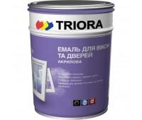 Эмаль для окон и дверей Triora 2,5 л (белая)