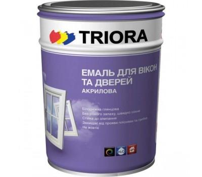 Эмаль для окон и дверей Triora белый 2.5 л