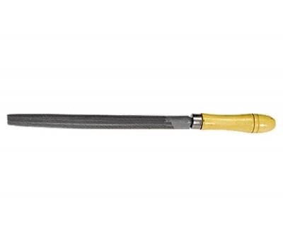 Напилок Сібртех напівкруглий з дерев'яною ручкою (150 мм)