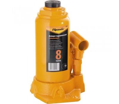 Домкрат гідравлічний пляшковий Sparta 200 - 385 мм (8 т)